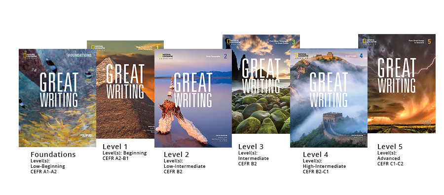 Great Writing Levels